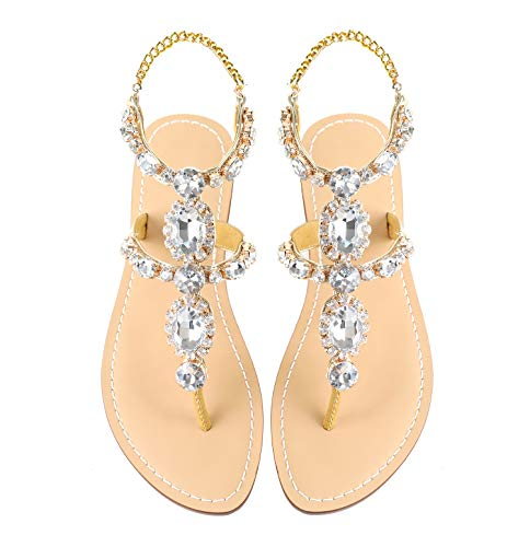 Top 10 best selling list for flat bridesmaid shoes gold