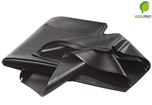 Scopri offerta per Telo puro PVC nero atossico per laghetto e stagno MT 6X6