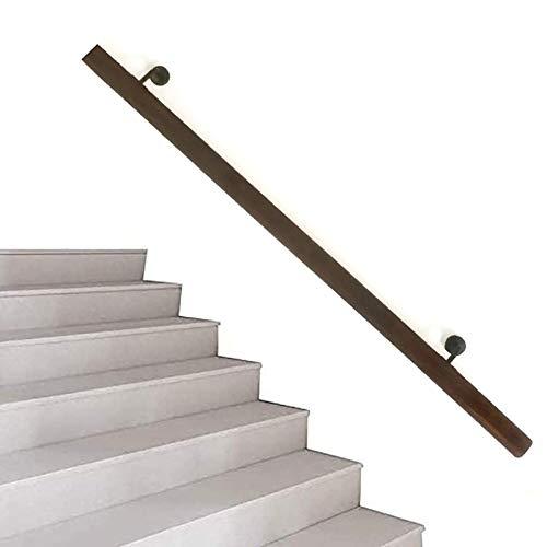 Cdbl Barandillas de Madera para escaleras, 1ft-20ft. Excelente Profesional, Kit Completo de...