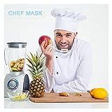 Herramienta del Cuidado De La Salud Máscaras Transparentes 10pcs / Set Anti Permanente Niebla Catering Food Hotel Plástico Máscaras Kitchen (Color : 10PCS)