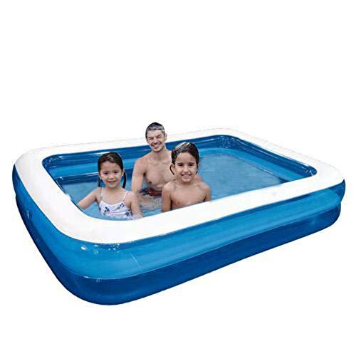 FENGLI Piscina inflable Espesar Familia de la piscina para niños Piscina de relleno de tamaño completo para niños y adultos, Juguetes de agua de verano para al aire libre, patio trasero, jardín, céspe