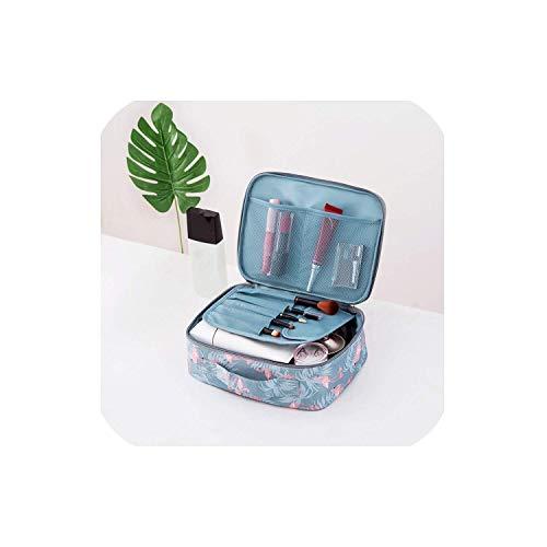 ShuuHaYi Multifunction Waterproof Portable Cosmetic Bag Organizer Women Travel Necessity Makeup Bag,Onesize,Styleafeather