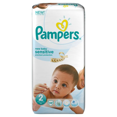 Pampers New Baby Sensitive 2 (Mini)