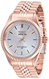 Invicta Men's Specialty Quartz Watch with Stainless Steel Strap, Rose Gold, 22 (Model: 29390)