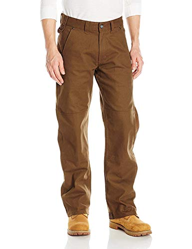 Red Kap Men's Utility Work Pant with Mimix Technology, Grizzly Brown, 33W x 30L