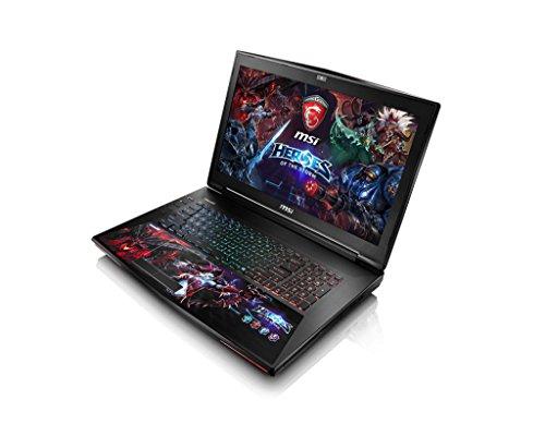 MSI GT72S-6QE16SR42HOS, 43,9 cm (17,3 Zoll) Laptop (Intel core i7 6820HK, 16GB RAM, 1TB HDD, NVIDIA GF GTX 980M, Win 10 Home) schwarz