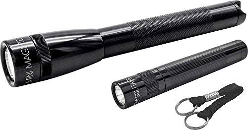 Lampe de poche Mag-Lite Mini Pro AA +Solitaire City-Life-Kit Ampoule LED à pile(s) 272 lm 2.5 h 118 g
