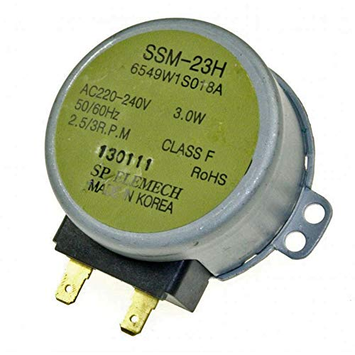 LGelectronics 6549W1S018A SSM-23H Motor Giratorio microondas LG