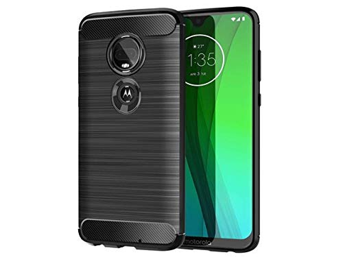 Storm Sell Funda Material Tipo Carbono Color Negro Mate Antigolpes para Motorola Líne Moto Z2 Play Force…