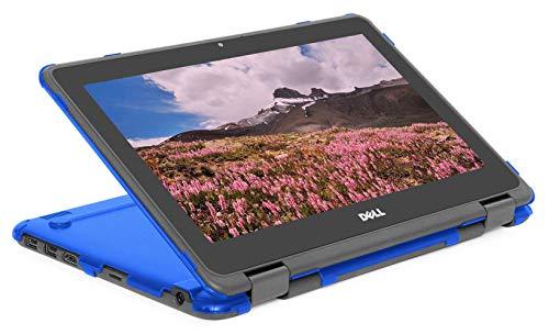 """mCover Dell-C3100-2in1 - Carcasa rígida para portátil Dell Chromebook 3100 2 en 1 (bisagra de 360 grados) de 11,6"""" (no compatible con 3181 2 en 1, 210/3120/3180/3189/5190/3100) Azul"""