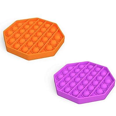 Amazon - Save 51%: 2Pack Push pop pop Bubble Sensory Fidget Toy, Autism Special Needs Stress Relie…