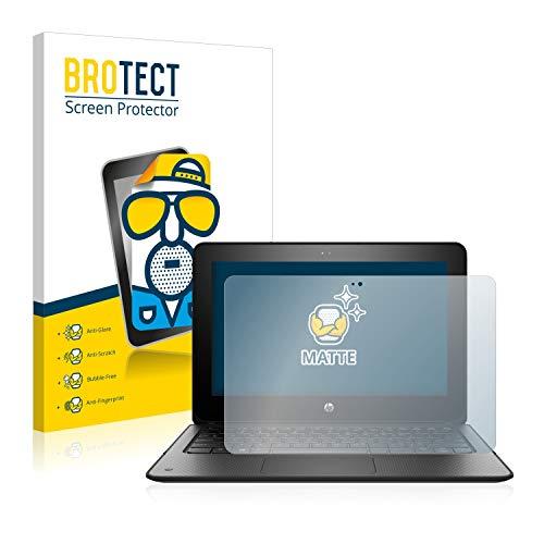 BROTECT Entspiegelungs-Schutzfolie kompatibel mit HP ProBook x360 11 G1 EE Bildschirmschutz-Folie Matt, Anti-Reflex, Anti-Fingerprint