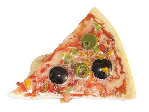 Food calamita Pizza con lanature - finto Pizza pezzi magnetico, buca finta calamita