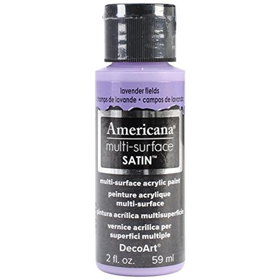 DecoArt Americana Multi-Surface Satin Acrylics Paint, 2-Ounce, Lavender Fields