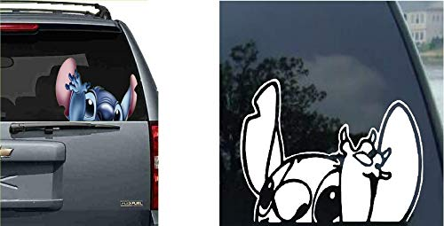 Lilo Stitch Decal Car Auto Window Sticker Decal for Car Truck SUV Motorcycle
