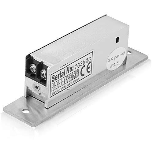 Serratura elettrica, 12 vie regolabile a tenuta stretta serratura doppia modalità di sblocco blocco catodo intelligente sicurezza blocco intelligente