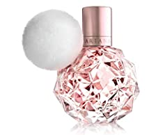 Ari by Ariana Grande Eau de Parfum 1.0 oz Spray The fragrance opens with the mouthwatering freshness of Crispy Pear, Pink Grapefruit and sparkling Juicy Raspberry. The ultra-feminine heart blossoms with a plush bouquet of Soft Muguet and Rose Buds in...