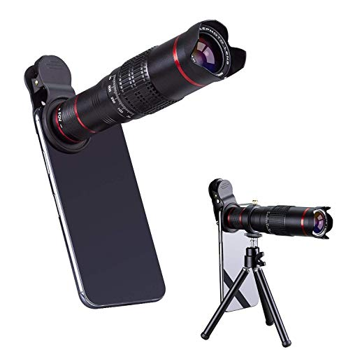 Infinizy MOTOTIVE 20X 4K HD Universal Zoom Mobile Phone Telescope Telephoto External Smartphone Camera Lens