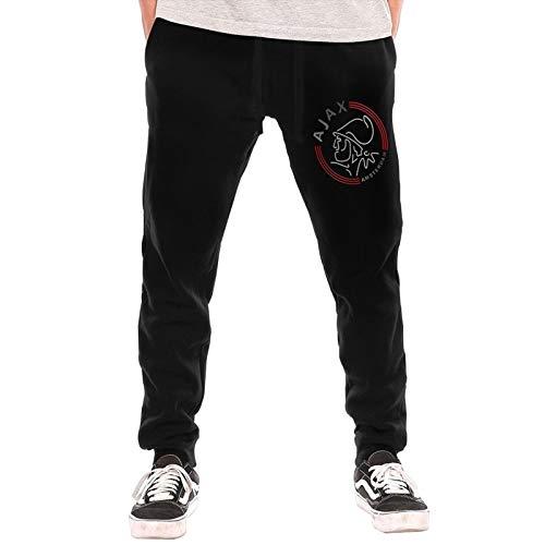 N / A AFC Ajax Amsterdam Club - Pantalones de deporte para hombre, de algodón, modernos y cómodos, talla XL