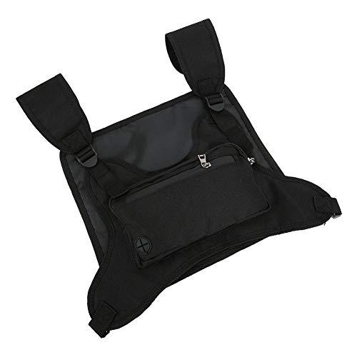 FILFEEL 【April Geschenk】 Freizeitsportrucksack, einfach zu verstauender Brustrucksack, Klettern zum Wandern oder Radfahren Geschenke für Männer oder Frauen(Black)