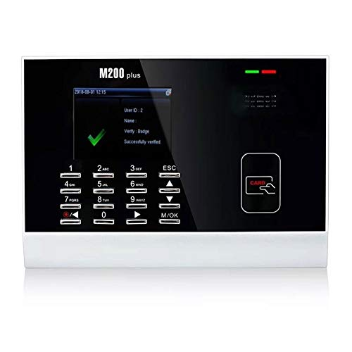 Maquina de Asistencia Escalable Tiempo RFID y Terminal de atención de Tarjetas sin Contacto de Verificación de Equipos biométricos Reloj para pequeñas y Medianas Empresas