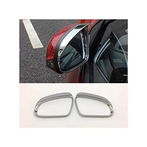 LFOTPP Auto Rückspiegel Regen Augenbrauen Rain Eyebrow Visier Shade für Kona Spiegelabdeckungen