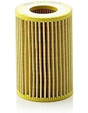 Original MANN-FILTER Filtro de aceite HU 712/9 x – Set de filtro de aceite juego de juntas – Para automóviles
