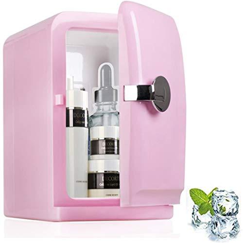 GJNWRQCY - Mini refrigerador para coche, 5 litros, enfriador para casa, oficina y coche, para una sola puerta, mini compacto, nevera 31,5 x 28 x 19 cm (12 x 11 x 7 pulgadas)