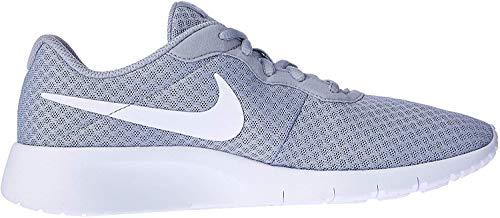 Nike, Tanjun (Gs) Chłopięce Buty do Biegania, Szary, 38 EU