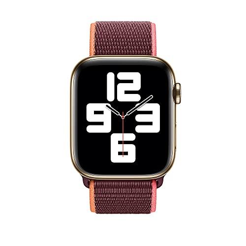 Apple Watch (44mm) Sport Loop, Pflaume - Regular