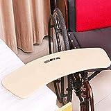 Dispositivo de asistencia de tabla deslizante de ayuda para la transferencia, tabla de transferencia curva para usuarios de sillas de ruedas, traslado del paciente de la silla de ruedas a la cama, i
