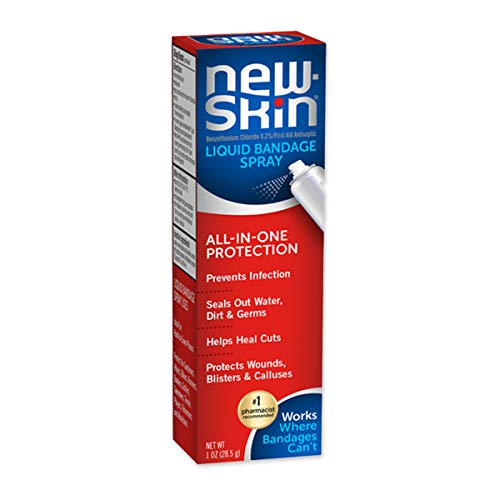 New-Skin Liquid Bandage Spray, 1 Ounce (Pack of 1) - Packaging May Vary