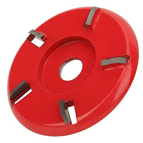 Naroote 【𝐇𝐚𝐩𝐩𝒚 𝐍𝐞𝒘 𝐘𝐞𝐚𝐫 𝐆𝐢𝐟𝐭】 Holzschneidwerkzeug, Schnitzklinge, bogenförmig zum Polieren von Nadelholzschnitzereien(red)