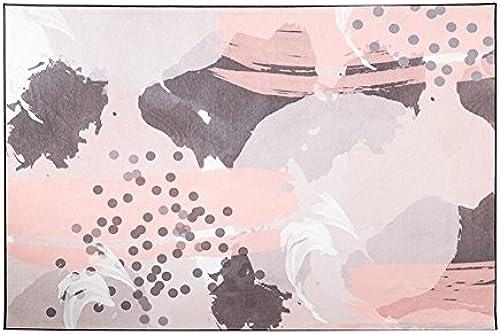 LiuJF Rosa Teppich, Sofa Tee Tisch Nachttisch Wohnzimmer Schlafzimmer mädchen Zimmer Korridor Studio Teppich Fu ad Einfach zu Reinigen L e 140  200cm   (Farbe   B, Größe   140  20cm  )