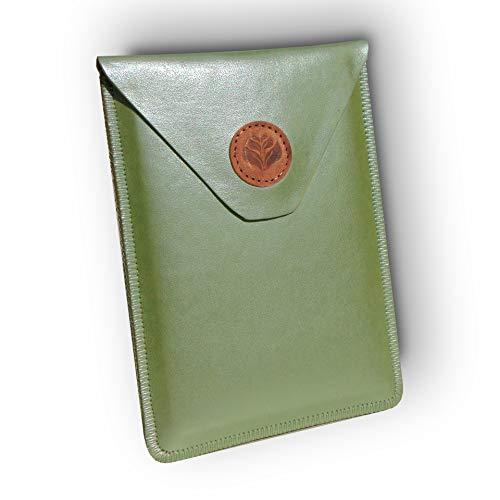 """Funda para Libro electrónico eReader eBook de 6 Pulgadas - Woxter, Tagus, BQ, Energy, SPC, Sony, Inves, Papyre, Wolder, Nolim - 6"""" Universal _C_ (Verde)"""
