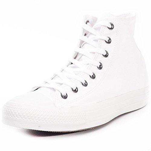 Converse Men's Chuck Taylor All Star 2018 Seasonal High Top Sneaker, White Monochrome, 9