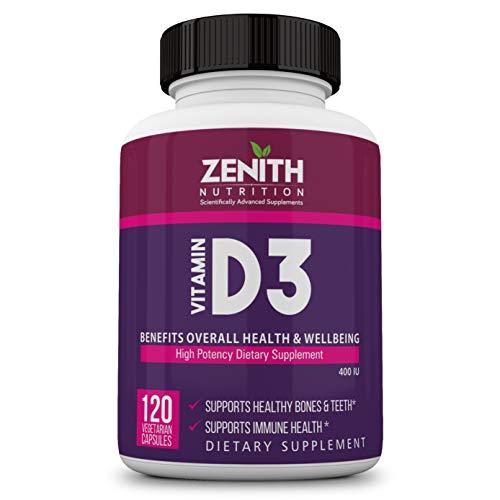 Zenith Nutrition Vitamin-D3 Capsules