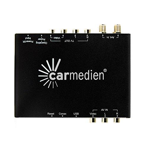 Ricevitore DVB-T Auto Tuner Sintonizzatore Diversity DVB1646 con funziona AFS e USB Media Center HD MPEG2 MPEG4 12V ~ 24V per Auto Camper Furgone Camion Barca, connessione due Monitori