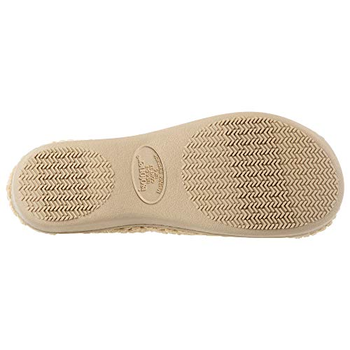 isotoner Women's Textured Microterry Hoodback Clog Slipper