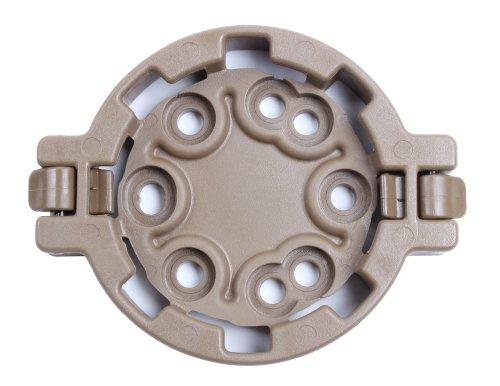 Blackhawk. SERPA Holster déconnexion Rapide Adaptateur Femelle, Mixte, 430952CT, Marron, Taille Unique