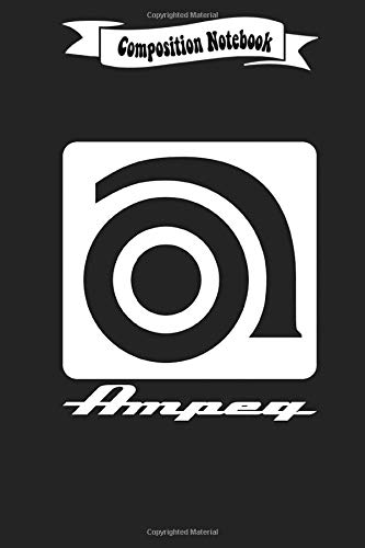 Composition Notebook: Ampeg Instruments Journal/Notebook Blank Lined Ruled 6x9 110 Pages
