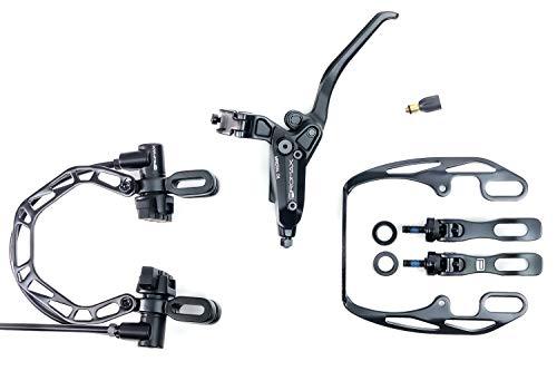 Fahrrad Bremsen PROMAX RC-901 hydraulische Felgenbremsen schwarz VR 800mm lang