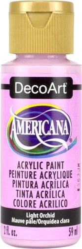 DecoArt 2 Ounce, Light Orchid Americana Craft Paint 2 oz