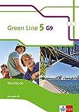 Green Line 5 G9: Workbook mit Audio-CD Klasse 9 (Green Line G9. Ausgabe ab 2015) -