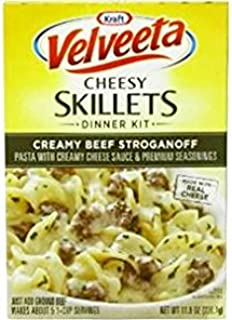 Velveeta Creamy Beef Stroganoff Dinner Kit (Pack of 3) 11.5 oz Boxes