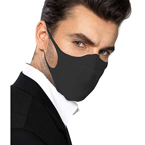 mascherine zandona Mascherina facciale Zandona tessuto indemagliabile elastico certificato Oeko-Tex Standard 100 lavabile in lavatrice perfetta aderenza x uso intenso