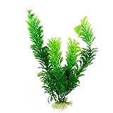 YJingMM Plantas Naturales para Acuarios Plantas de Acuario Plantas de peceras seguras Plantas Artificiales de Agua Verde Plantas de pecera Artificial 3.93inch Green