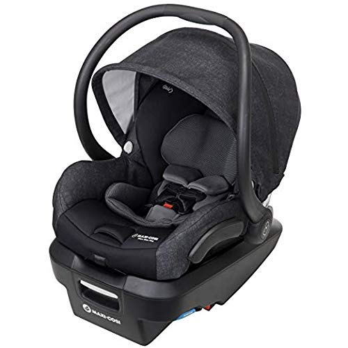 Maxi-Cosi Mico Max Plus Infant Car Seat with Base, Nomad Black,...