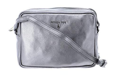 PATRIZIA PEPE Borsa/bag tracolla argento