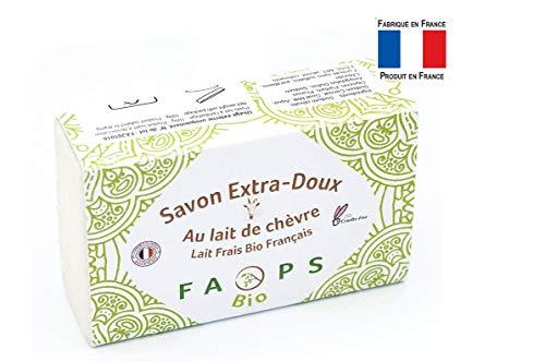 Savon Artisanal Français au lait de Chèvre frais BiO...